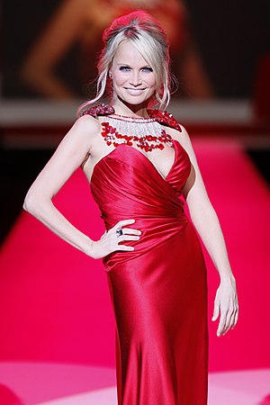 Home (Glee) - Kristin Chenoweth (pictured) reprised her role as April Rhodes in the episode.