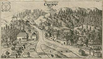 Kropa - Image: Kropa Valvasor