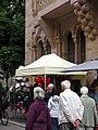 Kunst in der oberen Altstadt in Freiburg, seit 1979 immer Anfang September, hier in der Herrenstraße 7.jpg