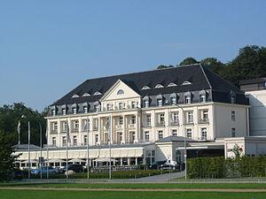 Travemünde - Image: Kurhaus hotel, Travemünde
