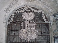 Schwarzenberg Coat of Arms in Sedlec Ossuary