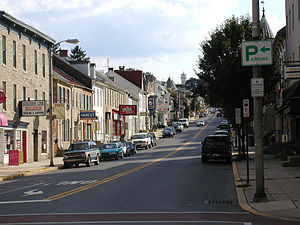 Kutztown, Pennsylvania - West Main Street from Whiteoak Street
