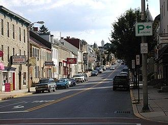 Kutztown, Pennsylvania - West Main Street from Whiteoak Street