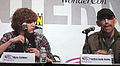 Kyle Gallner & Jackie Earle Haley at WonderCon 2010 1.JPG