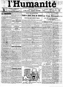 L'Humanité - 23-11-1911 - Grève Draveil.jpeg