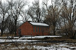 LDS chapel located at Washakie