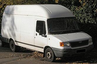 LDV Convoy - High topped LDV Convoy van