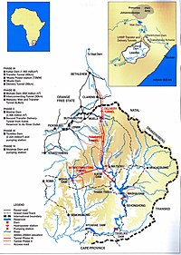Lesotho Highlands Water Project  Wikipedia