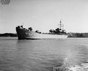 USS Chittenden County (LST-561) - LST-561