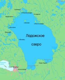 Карта Озера Лососинное