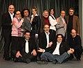 """La Compagnia del Bagaglino nel 2008 su Canale 5 in """"Gabbia di matti"""" - Foto di Franco Ferrajuolo.jpg"""