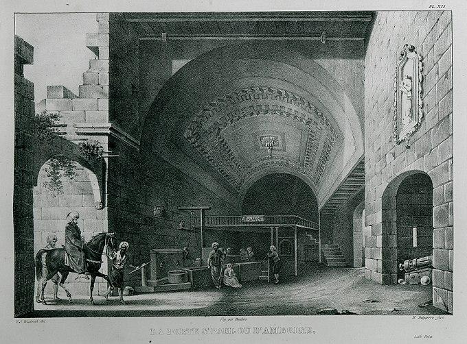 La Porte St Paul ou d'Amboise - Rottiers Bernard Eugène Antoine - 1828