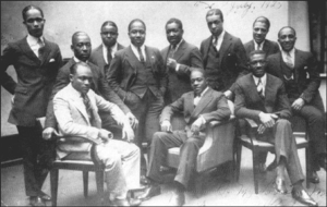 1925 in jazz - Sam Wooding and his Orchestra at the Vox Phonograph Studio, Berlin in 1925.