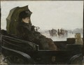 Lady in a Landau. Motif from Paris (Georg Pauli) - Nationalmuseum - 21115.tif