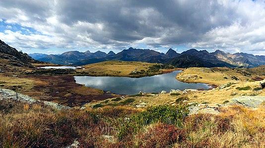 Lakes Lasteati, Italy, 2100 meters a.s.l.
