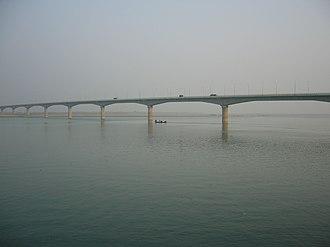 Lalon Shah Bridge - Image: Lalon Shah Bridge Bangladesh