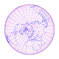 Lambert azimuthal equal-area projection of world with grid.png