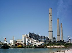 Hong Kong Electric's power station