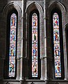 Lancet windows, North Transept, Hexham Abbey - geograph.org.uk - 749313.jpg