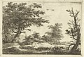 Landschap met heuvel, water en bomen, RP-P-1885-A-9012.jpg