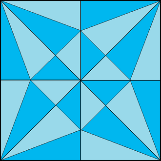Mathematics of paper folding - Two-colorability