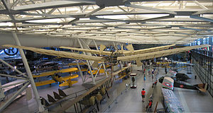 Langley Aerodrome - The man-carrying Aerodrome as displayed at the National Air and Space Museum's Steven F. Udvar-Hazy Center