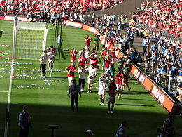 Lap of honor at wembley.JPG