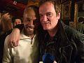 Larry Mongo & Quentin Tarantino inside D'Mongo's (Detroit)..jpg