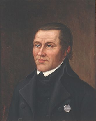 Lars Larsen Forsæth - Lars Larsen Forsæth painted by Christopher Pritzier Meidell.