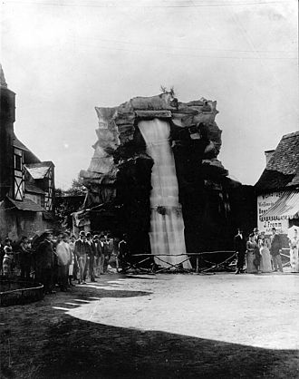 AEG - Artificial electrically powered waterfall at the International Electro-Technical Exhibition – 1891.