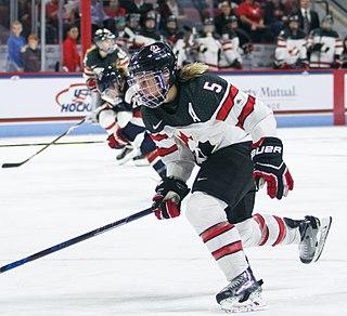 Lauriane Rougeau Canadian ice hockey player