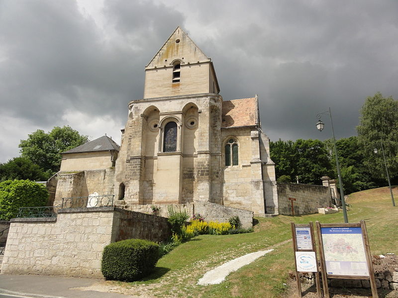 Laversine (Aisne) église
