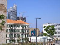 Le Centre-Ville et les Marina tours