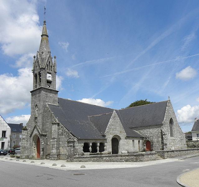 Église Saint-Jean-Baptiste de Le Croisty (56).