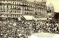 Le défilé des Gueux à Montpellier Juin 1907. Place de la Comédie..jpg