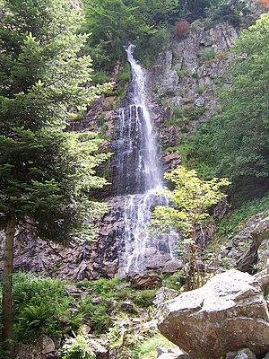 Mont Pilat - Le saut du Gier waterfall on the Gier