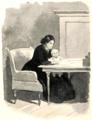 Lefnadsteckning öfver Catherine Booth-071-Hon korrigerade manuskripten---medan ett barn lekte på hennes knä.png