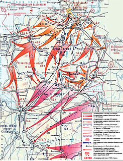 Kingisepp–Gdov Offensive campaign between the Soviet Leningrad Front and the German 18th Army
