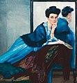 Leo Putz - Dame in Blau, 1908.jpg
