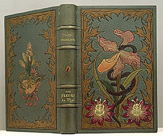 Auguste Poulet-Malassis - First edition of Les Fleurs du mal by Charles Baudelaire (Paris: Poulet-Malassis et de Broise, 1857). Inscribed to Nadar (Félix Tournachon), pioneer photographer, writer, and caricaturist, and one of Baudelaire's very small inner circle of friends. Binding by Charles Meunier.