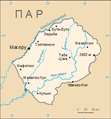 Lesotho map be.png