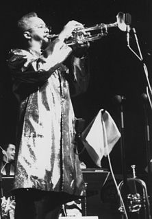 Lester Bowie American jazz trumpet player and composer (1941-1999)