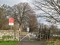 Level crossing at the eastern end of Tyne Green - geograph.org.uk - 1081075.jpg