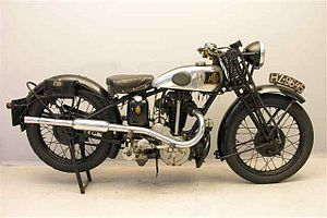 Levis (motorcycle) - 1932 OHV 350 cc
