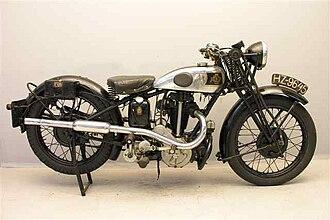 Levis (motorcycle) - 1932 OHV 350 cc