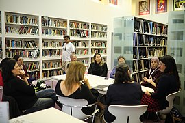 Librarians Meetup at GLAM WIKI Tel Aviv Conference 2018 (9).JPG