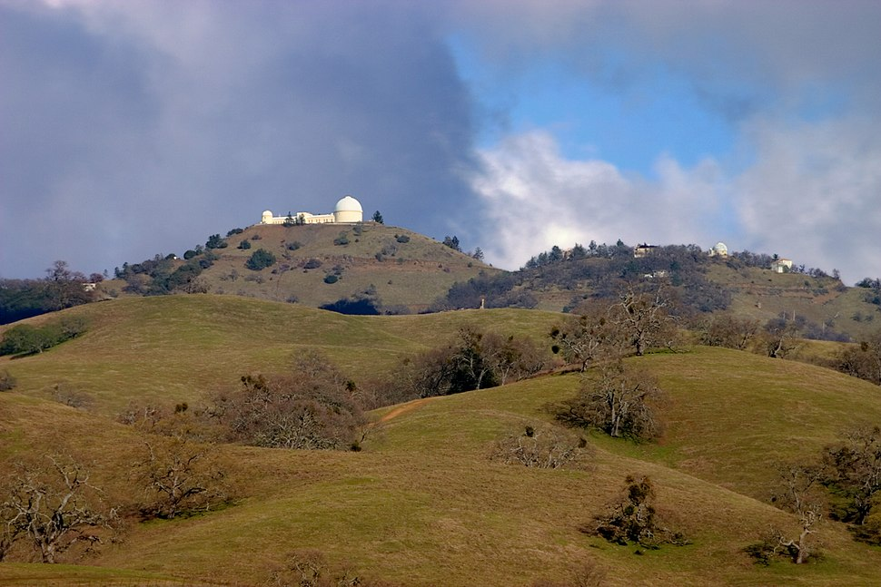 Lick Observatory from Park