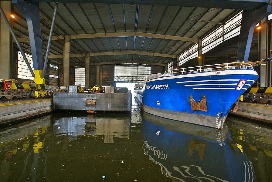 Liège,  Belgium: Dock