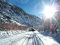 Ligne Saint-Gervais - Vallorcine - entree tunnel des Montets cote Valorcine.jpg