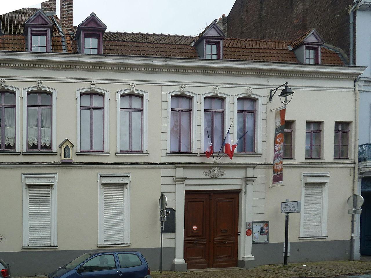 File lille maison natale de charles de gaulle pa00107904 for Maison des ados lille